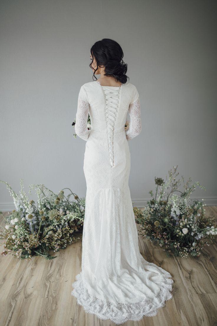 195 best elizabeth cooper design original collection for Modest wedding dresses seattle