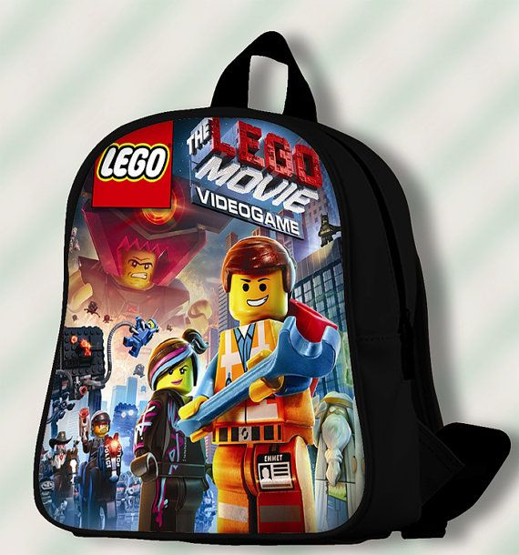 Lego Movie Video Game  Custom by SmileSchoolBags on Etsy