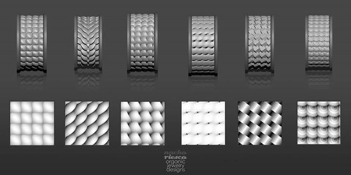 Nacho Riesco Gostanza: minipack de Alphas a alta resolución totalmente tileables creadas con el nuevo Plugin Nanotiles Textures