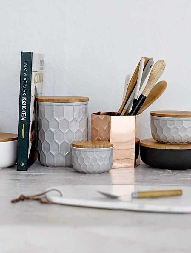 cute storage for the kitchen