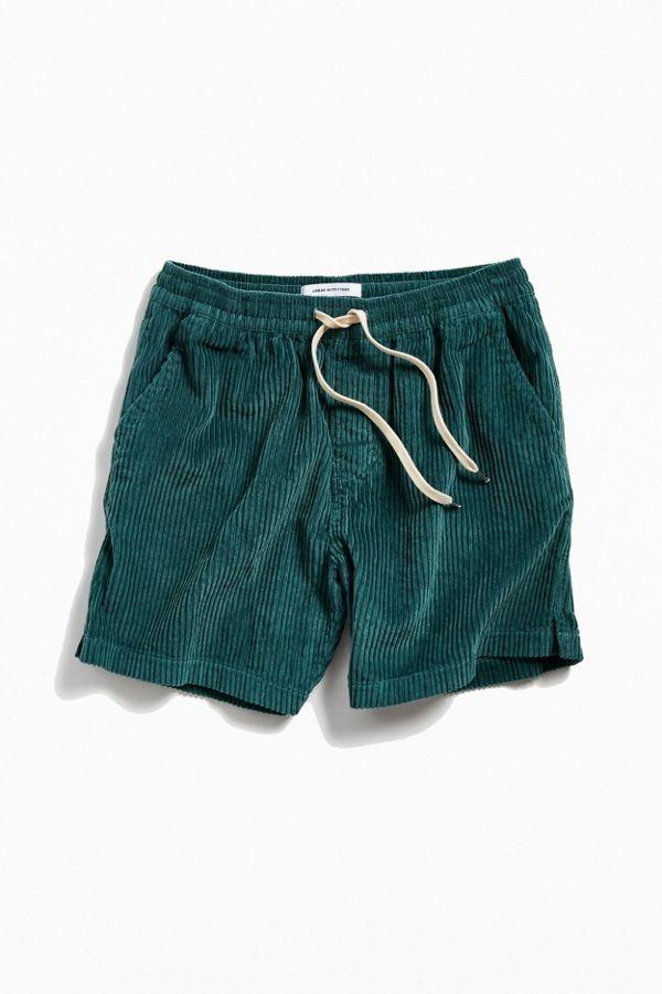 vans corduroy shorts