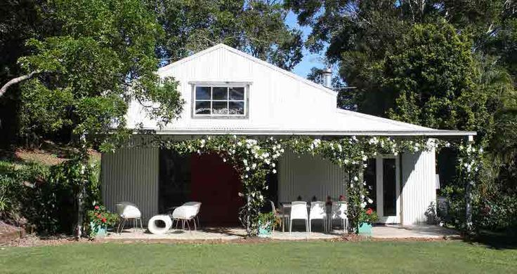 nestled in the green hills of the byron bay hinterland northern new south wales is - Garden Sheds Australia