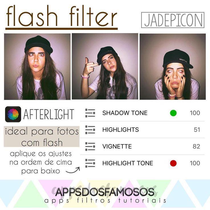 Indico usar em fotos mais escuras, de preferência com flash. Fica maravilhoso ❤️😍 #adffiltros #adfafterlight
