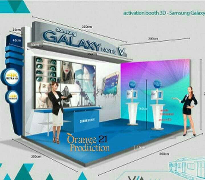 Design booth samsung