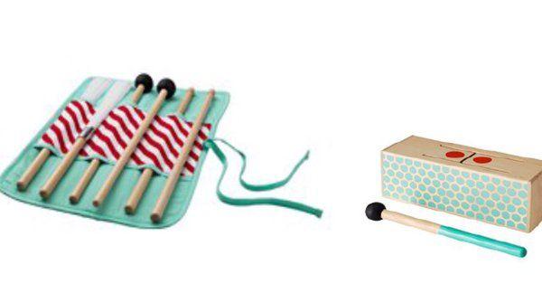 """IKEA ritira giocattolo bacchette """"LATTJO"""" per tamburo, rischio soffocamento"""