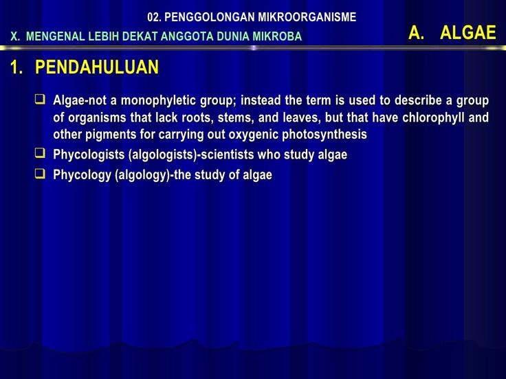 2d-algae by MIKROBIOLOGI FABIO UNSOED via Slideshare