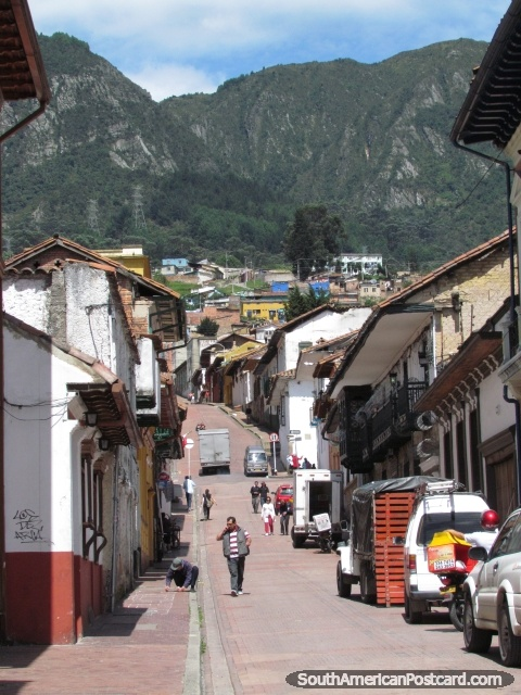 La Candelaria - amazing historical streets of Bogota, Colombia