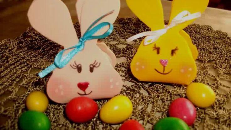 Húsvéti dekoráció.DIY kreatív kézműves ötlet nyuszi húsvéti tojástartó,meglepepetés dobozhoz. - YouTube
