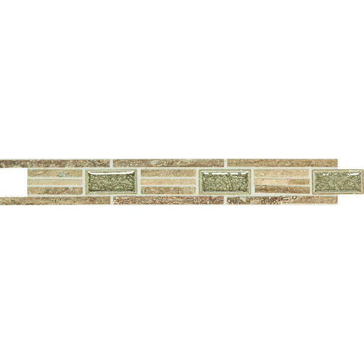Daltile Stone Decorative Accents Linear Fantasy 1 5 8 In