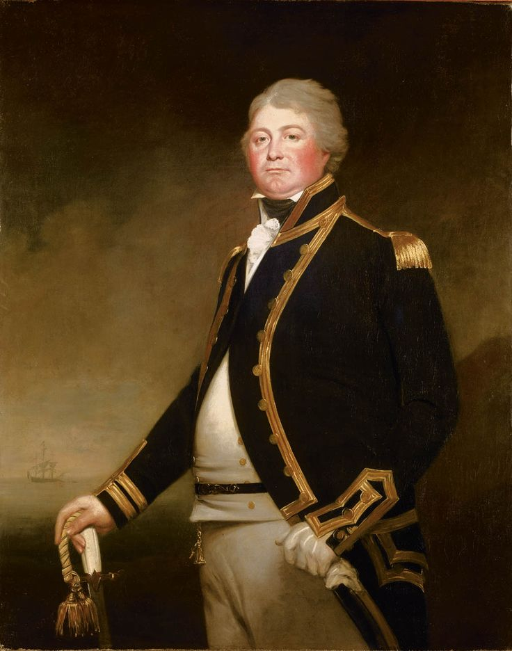Captain James Newman-Newman, 1767-1811. A lieutenant in the 'Royal George', 100 guns, at the Battle of the First of June, 1794. Later he commanded frigates in the West Indies and home waters. In 1798, when in command of the 'Mermaid', he had a spirited action with the French frigate 'Loire' which managed to escape. She was captured two days later. The following year, Newman-Newman transferred to the 'Loire', and in February 1800, assisted at the capture of the 'Pallas', a brand-new French…