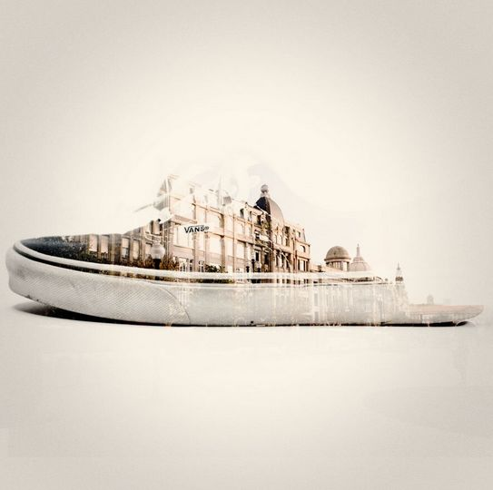 Double exposure photography by Dan Mountford