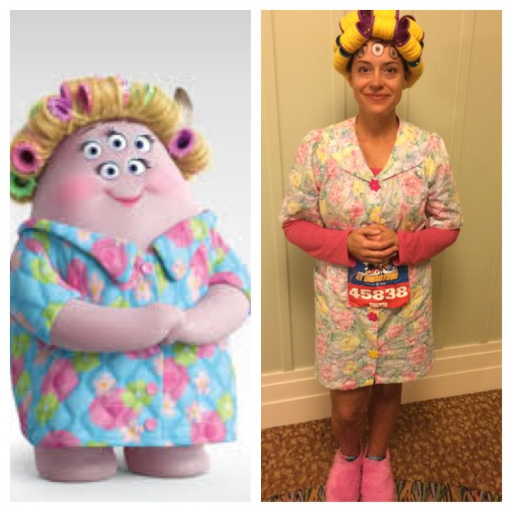 Sherry Squibbles, Monster's University Run Costume, Disney World Half Marathon