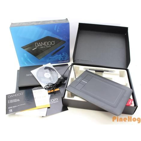 For Sale: Wacom Bamboo CTH460 Pen & Touch USB Tablet Windows PC Mac