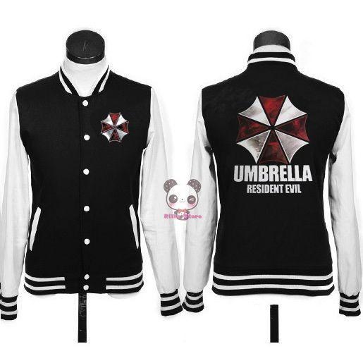 Jaqueta Basebol Resident Evil - Umbrella