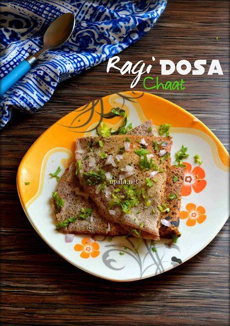 Ragi Dosa Chaat http://www.upala.net/2016/08/ragi-dosa-chaat.html