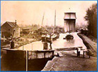 Dunston's Shipyard, Thorne, Stainforth & Keadby Canal 1900