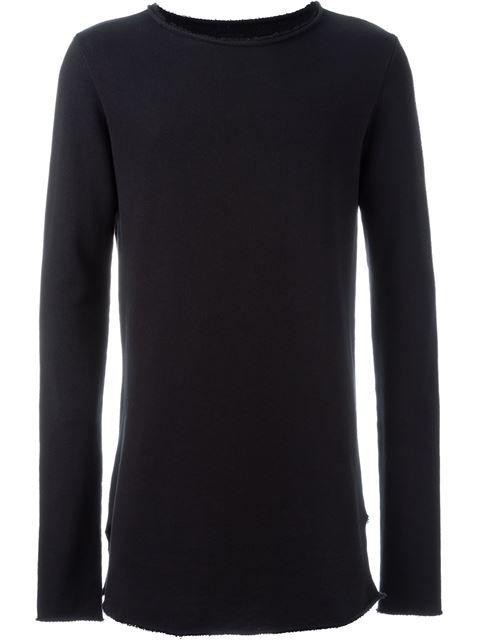 $125 Thom Krom raw cut sweatshirt