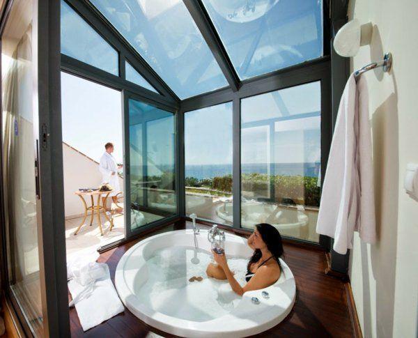Chambre dhôtel avec jaccuzi intérieurs inspirants et vues splendides archzine fr