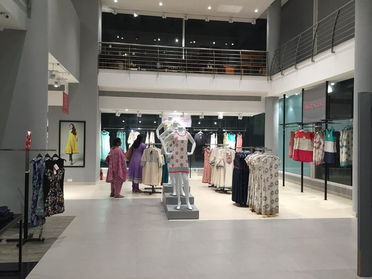 The beautifully designed & decorated TATA Westside store - Indore, India !! Check more on www.IndoreRocks.com