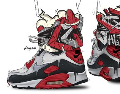 Kimoz x Nike Airmax