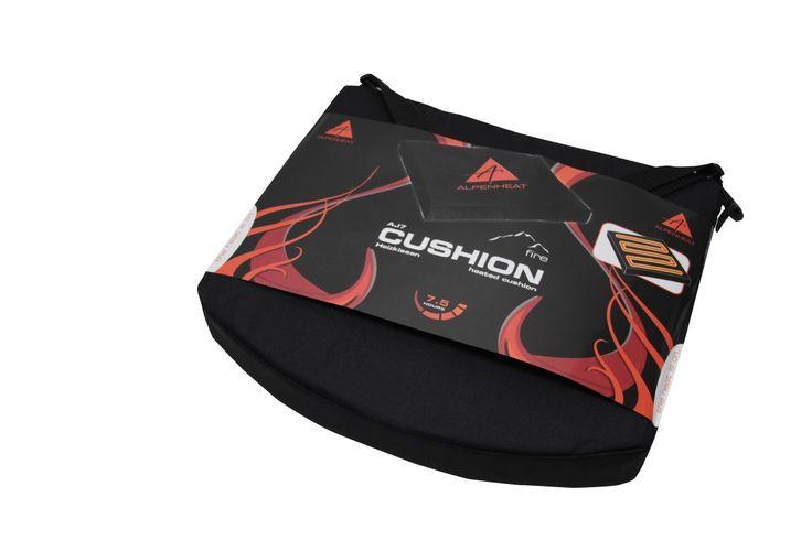 Alpenheat Cushion - Ein Fußballspiel im November? Für ein warmes Hinterteil sorgt unser beheizbares Sitzkissen!