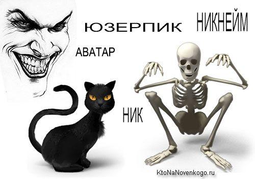 Ник (никнейм)— что это такое, чем он отличается от учетной записи и что такое аватар (юзерпик)   KtoNaNovenkogo.ru - создание, продвижение и заработок на сайте