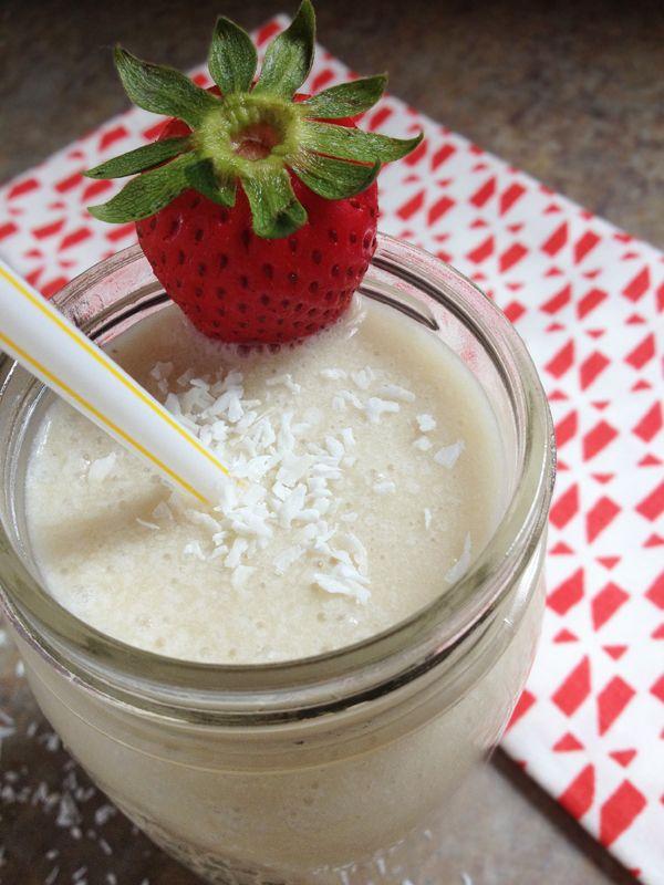 Healthy, Vegan, and Paleo Smoothies - Our Paleo Life's Pina Colada Smoothie