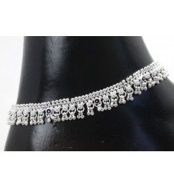 Thick silver payal (anklet).  #Anklets #Payal #online #jewellery #Buynow #Bollywood #IndianJewellery