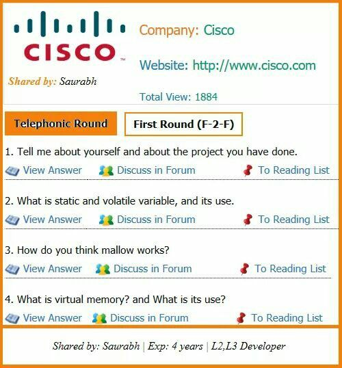 latest cisco networking interview questions for experienced 4 experience posted by saurabhgive cisco interview questions for software engineer preparation - Network Engineer Interview Questions And Answers