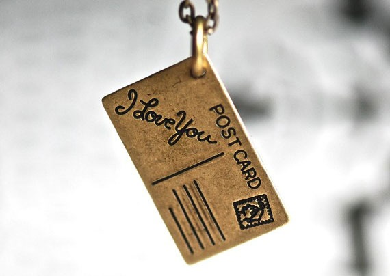 so sweet: Presents Ideas, Love You, Posts Cards, Gifts Ideas, Cute Charms, Charms N Bracelets, Postcards Necklaces, Postcards Charms, Memories