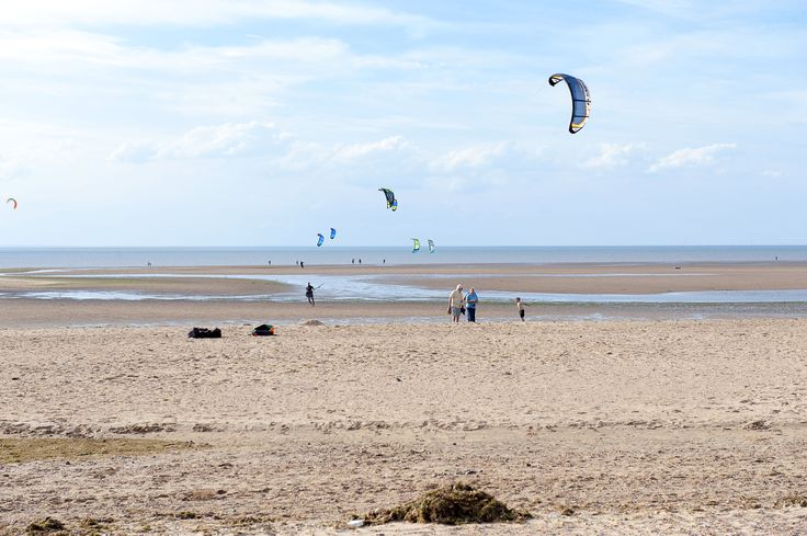 Kite Surfing Old Hunstanton beach at the BEST WESTERN Le Strange Arms Hotel