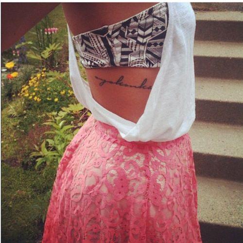 Best 25 Rib Tattoo Script Ideas On Pinterest: 17 Best Ideas About Rib Tattoo Script On Pinterest