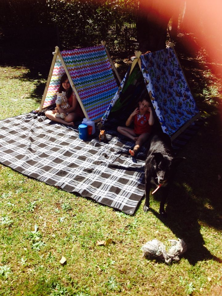 Wooden Kids Tents- Easy Peasy