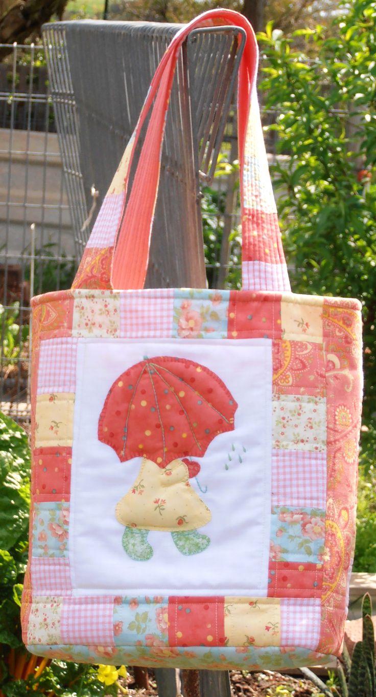 Sun Bonnet Sue bag.