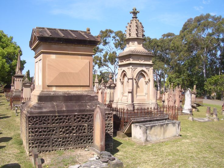 Rookwood Cemetery - Sydney, Australia Close to one million people lie in the beautiful, Victorian Rookwood necropolis in Sydney, but it is the grave of the notorious Davenport Brothers, famous spiritualists