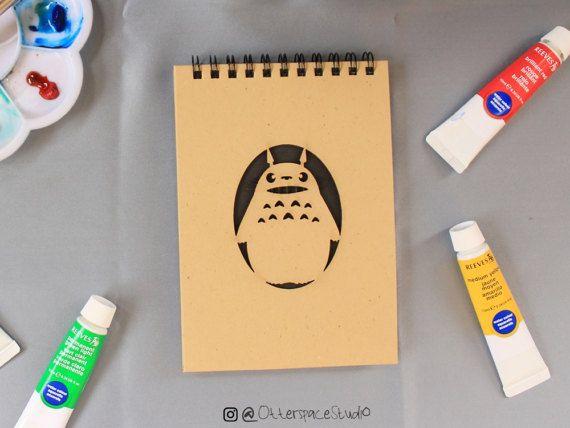 Studio Ghibli Theme Notebook  Smile Totoro by OtterspaceStudio