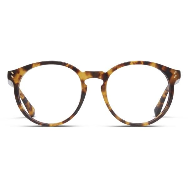 cf7a972c31 Stella McCartney SC0059O Tortoise ( 260) ❤ liked on Polyvore featuring  accessories