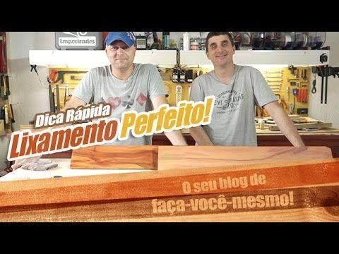 Como lixar madeira - Dicas Empoeirados