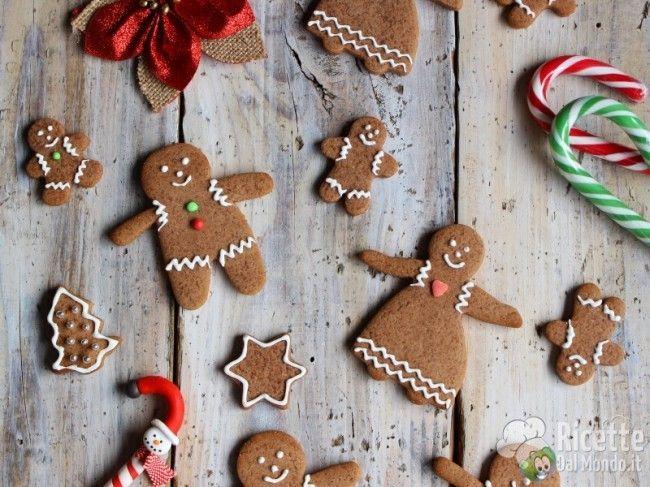 Biscotti pan di zenzero - Gingerbread Man