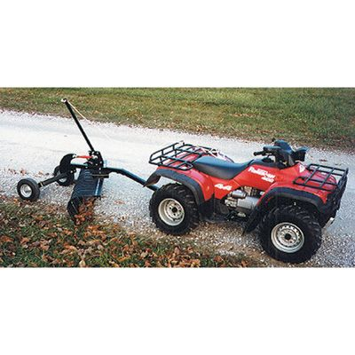 Ideal for grading, leveling, removing stones or trash, breaking up sod clumps and more. Design allows close work around fences, walls and other objects.