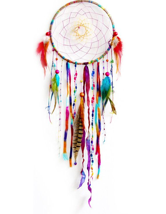 A beautiful dream catcher. Reserve Listing for Christi Yates by eenk on Etsy