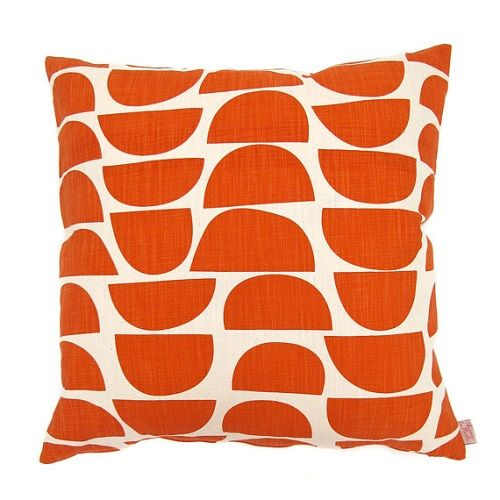 Bowls Persimmon Cushion