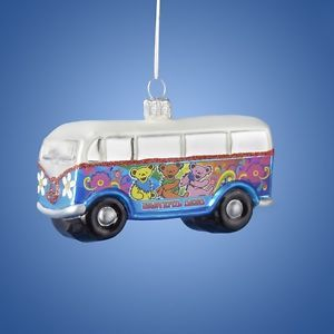 Grateful Dead - VW Bus Christmas Ornament  Dreaming about Christmas and how awesome this VW Bus ornament is going to look on your Christmas tree or Hanukkah bush? This hand-crafted ornament would be the perfect addition to your hippie holiday decor! Officially Licensed Grateful Dead Merchandise. #sunshinedaydream #hippieshop