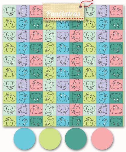 Elefantes Coloridos - Panólatras