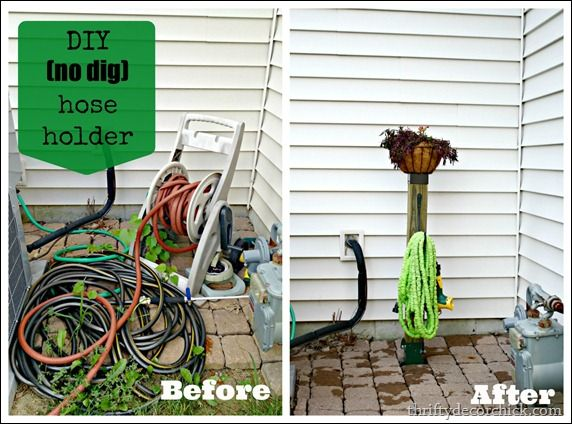 Garden Hose Storage Solutions: 1000+ Ideas About Water Hose Holder On Pinterest