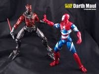 Darth Maul (Star Wars Clone Wars) Custom Action Figure