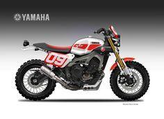 Yamaha XSR 900 Street Tracker Dirtiest Sons Liveries Oberdan Bezzi Motorcycles Streettracker