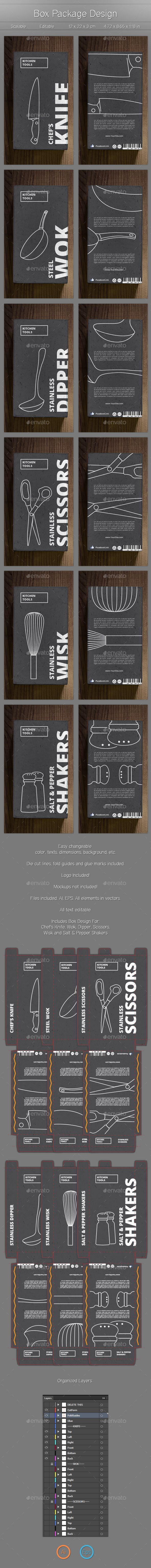 Product Box Design - Packaging Print Templates                                                                                                                                                      More