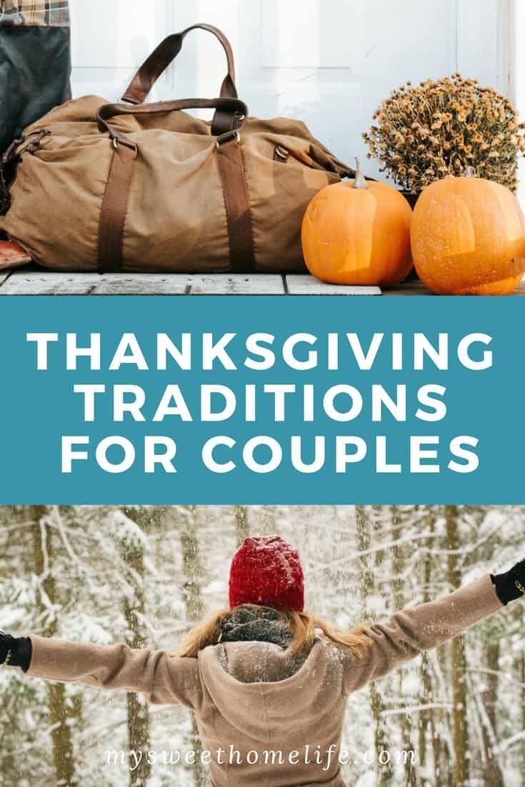 Tradições de Ação de Graças para casais   – Improve your marriage
