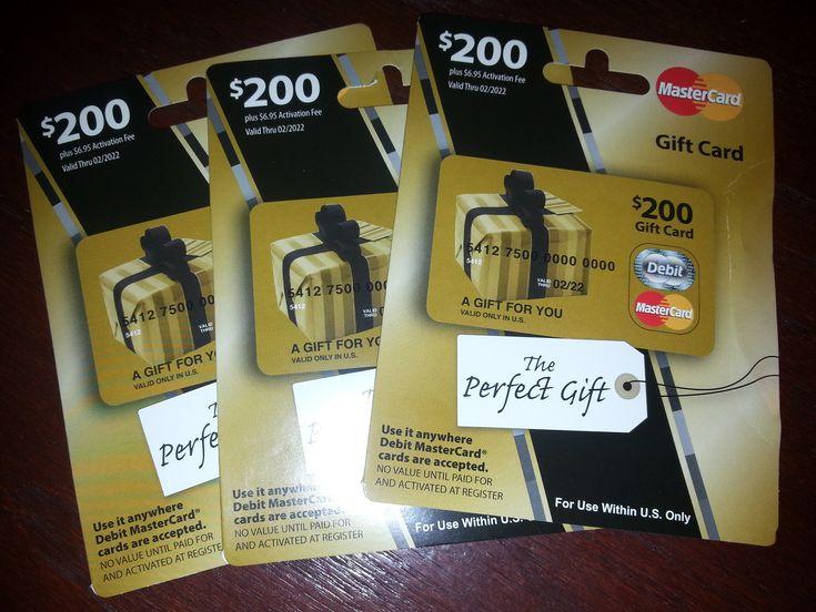 25+ unique Mastercard gift card ideas on Pinterest | Visa gift ...